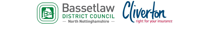 Bassetlaw District Council and Cliverton Insurance Logos